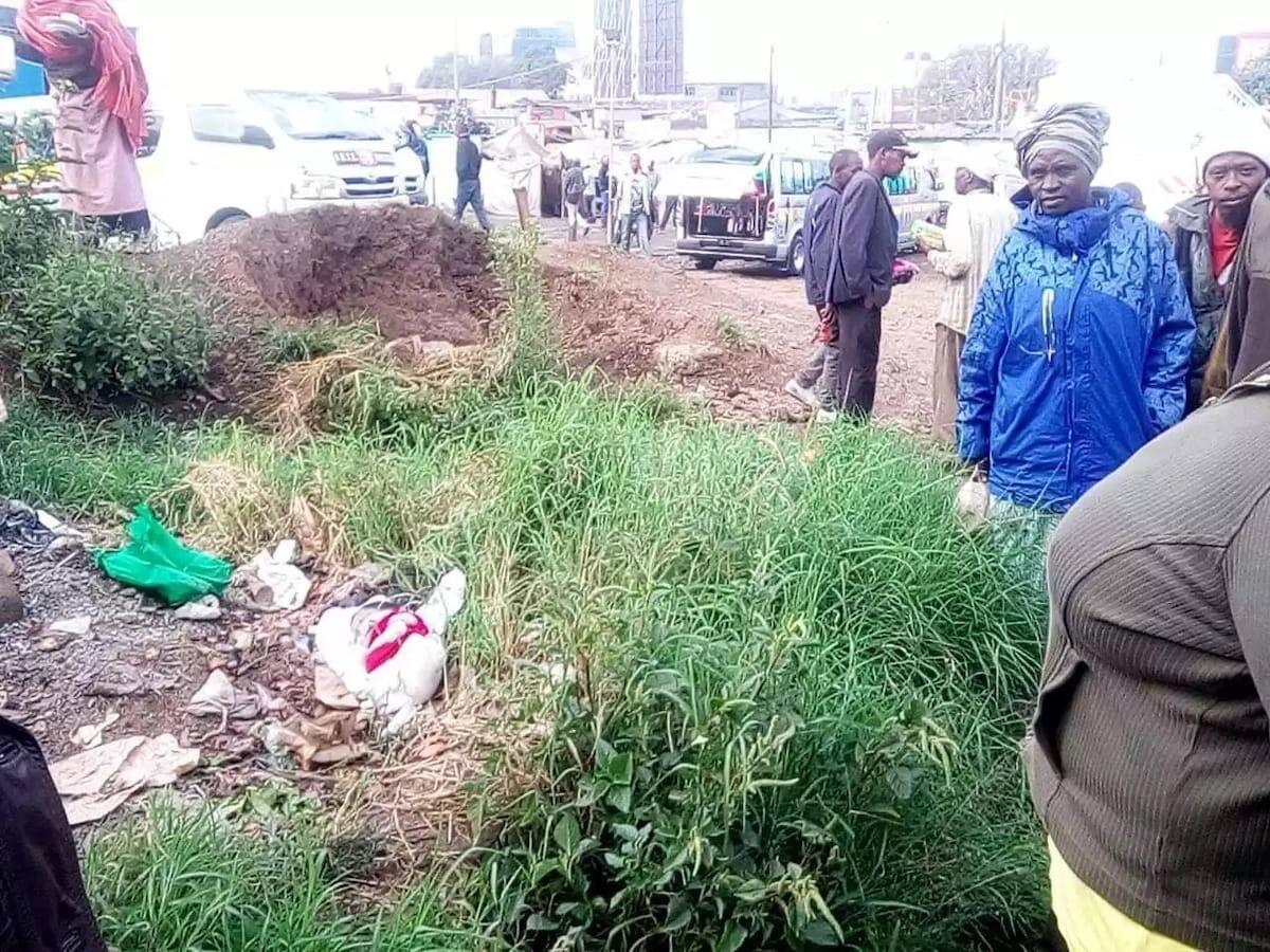Police hunt for Nakuru mother who dumped newborn baby in dumpsite