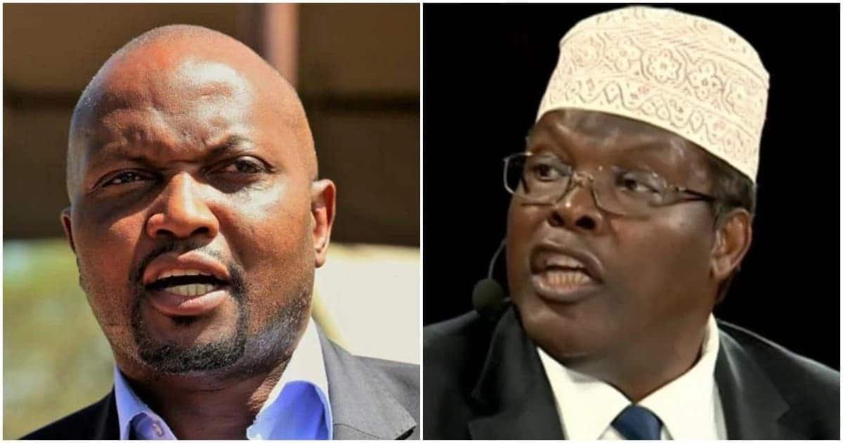 Moses Kuria amwita Miguna Miguna 'mbakaji sugu' katika majibizano mabaya Twitter
