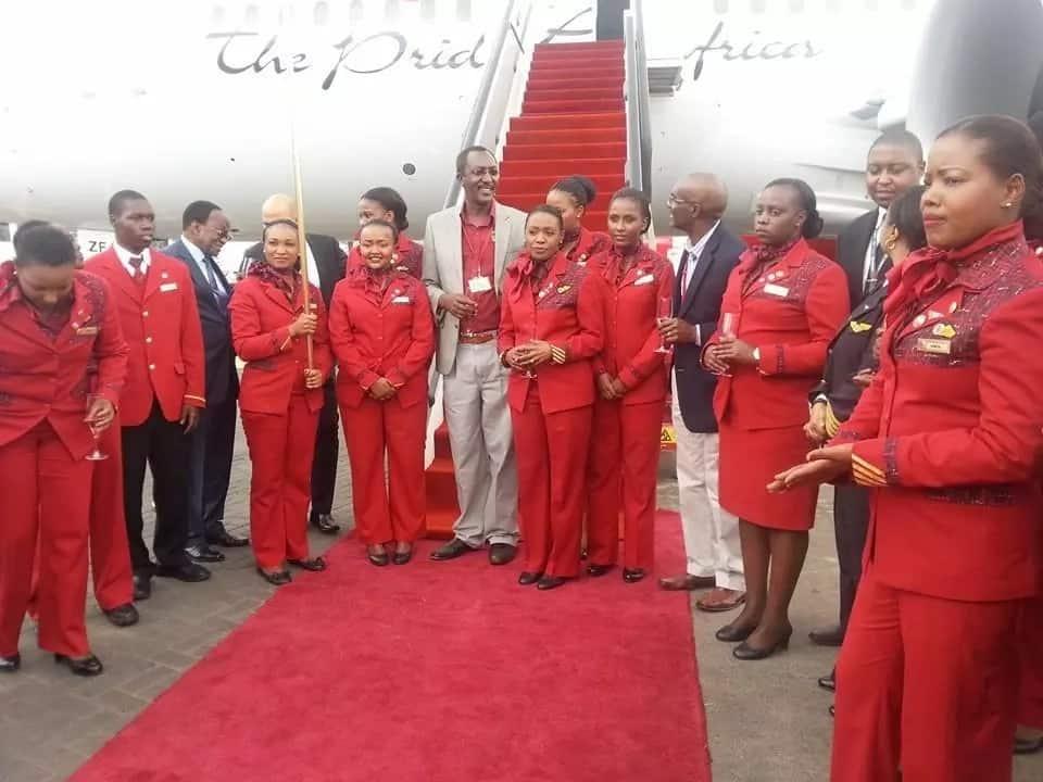 Kenya Airways cabin crew salary
