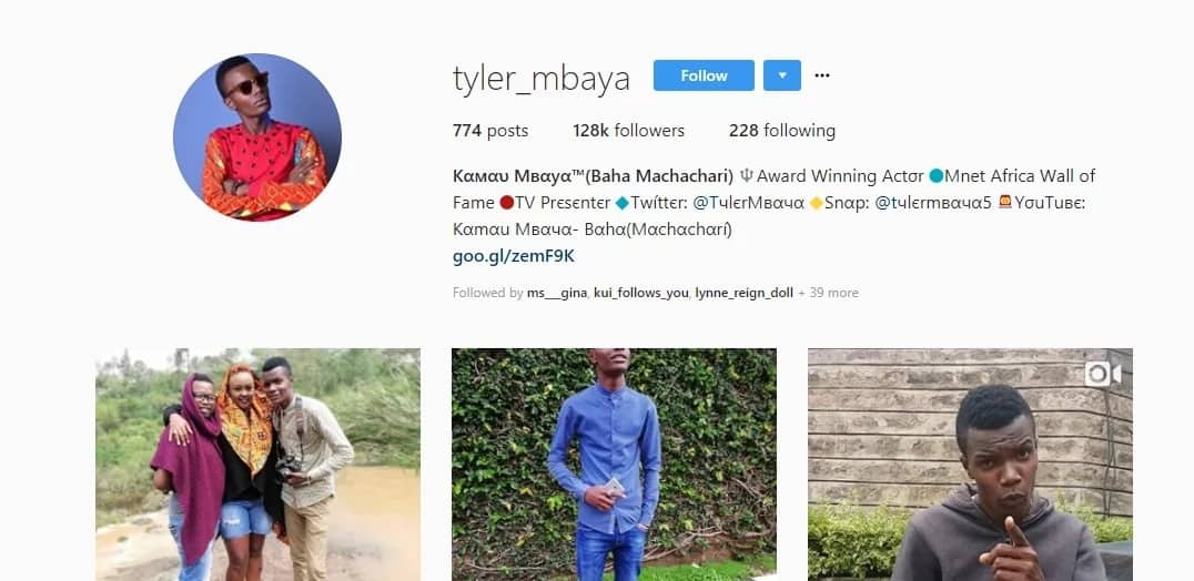 Con artiste using Machachari actor, Baha's, name to con Kenyans