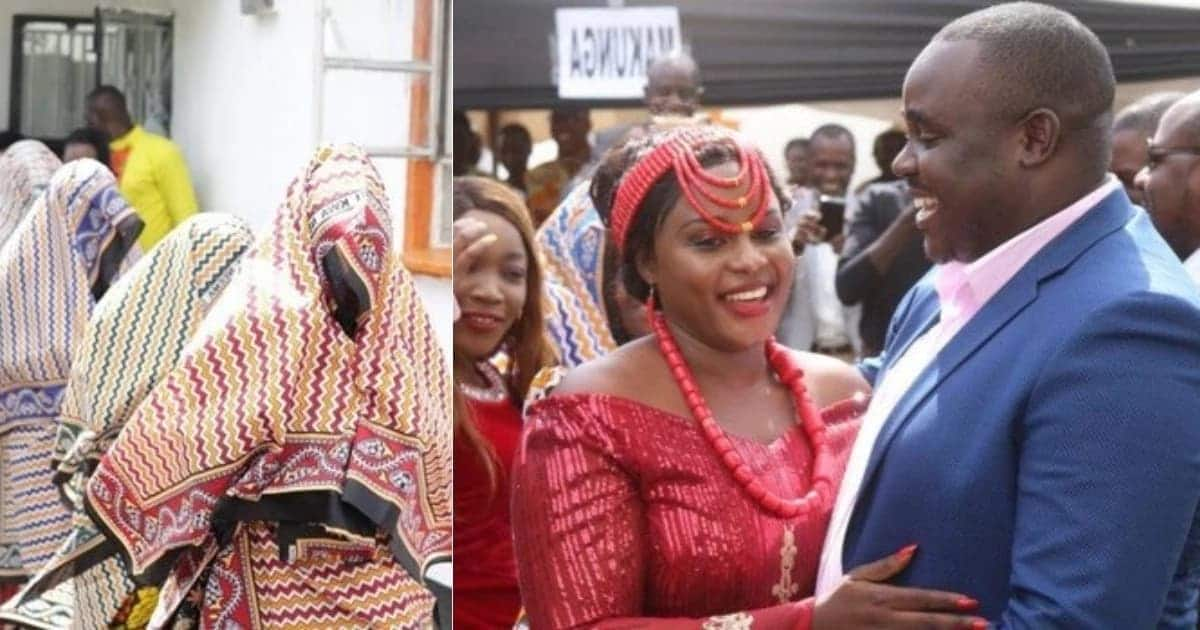 Senator Malala falls in love afresh with wife Carolina during traditional dowry ceremony