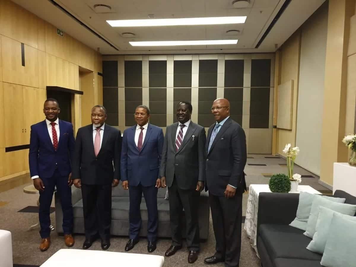 Raila atua Afrika Kusini kufungua jamvi la kazi aliyopewa na AU