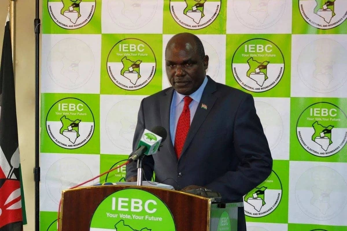 IEBC chairman Wafula Chebukati contradicts commission's position blaming fired CEO Chiloba for KSh 6 billion loss