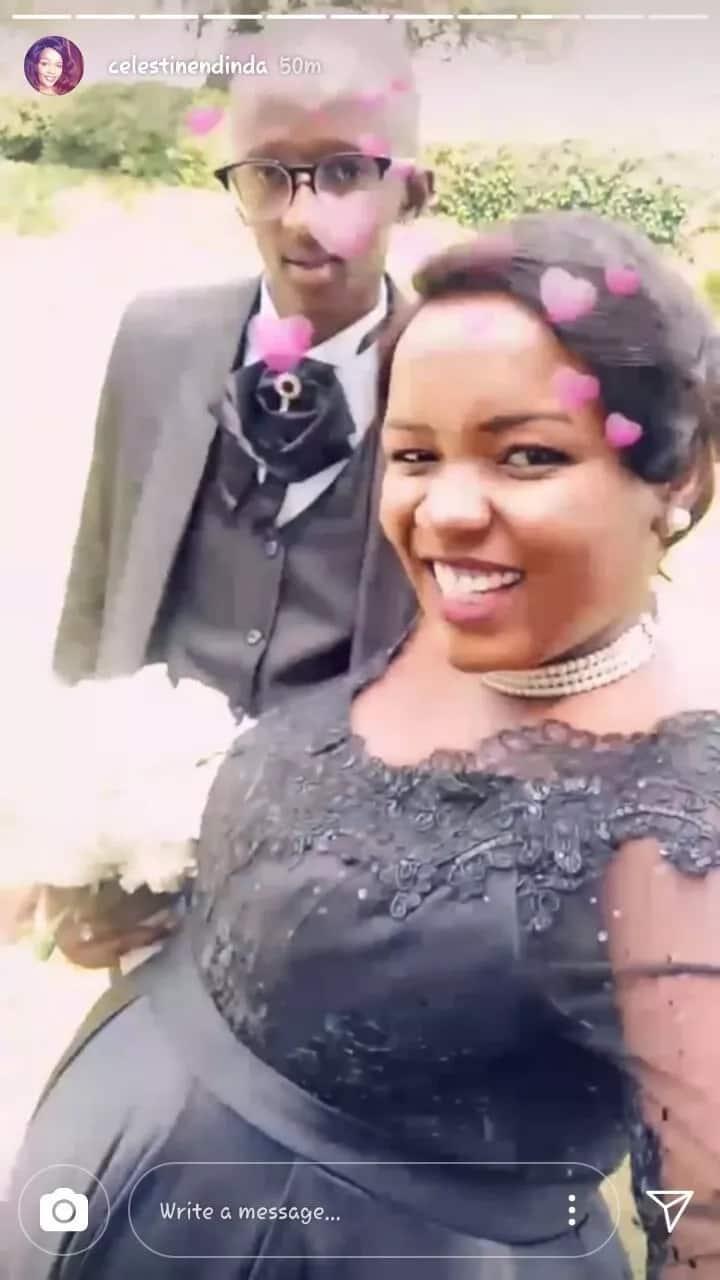 Hatimaye, Celina, wa Mother-in-Law, afanya harusi na mpenziwe Phillip Karanja