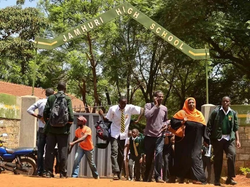 Muslim students at Jamhuri High School demanded separate Library, dormitory and laboratory from non-muslims