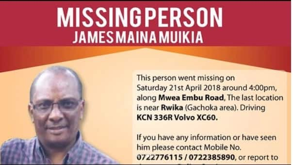 Actress Joyce Maina appeals to Kenyans after father goes missing