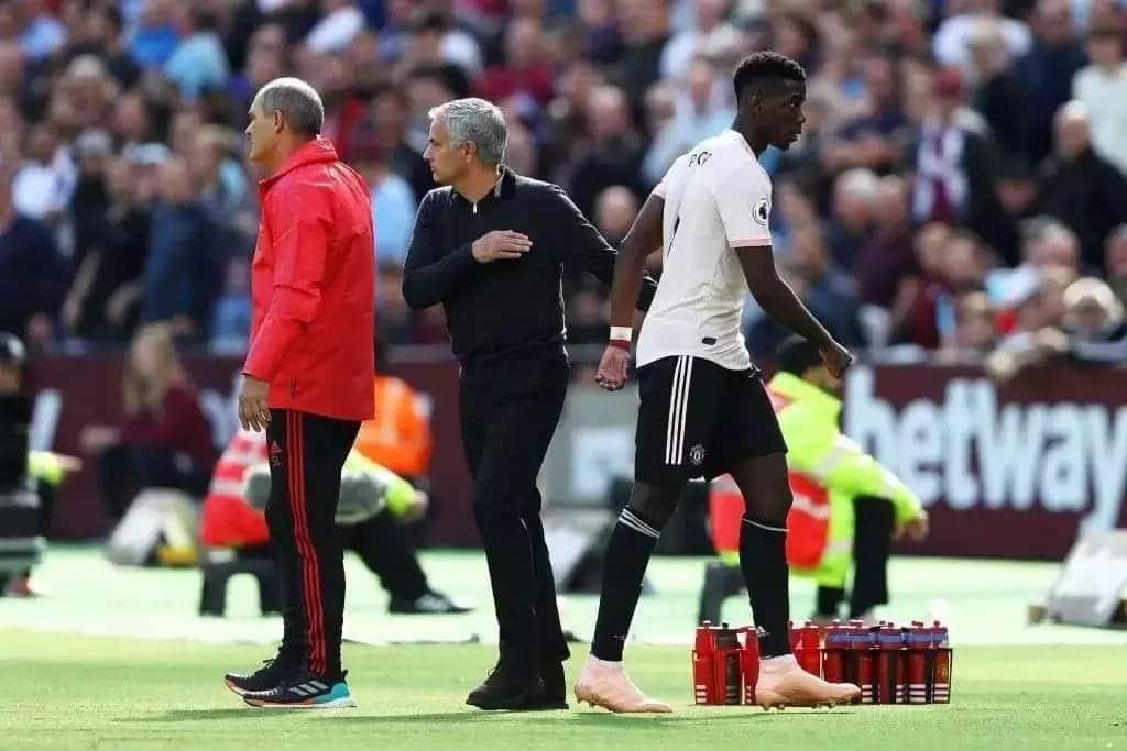 Pogba finally tells Mourinho why he doesn't need Man United captain armband