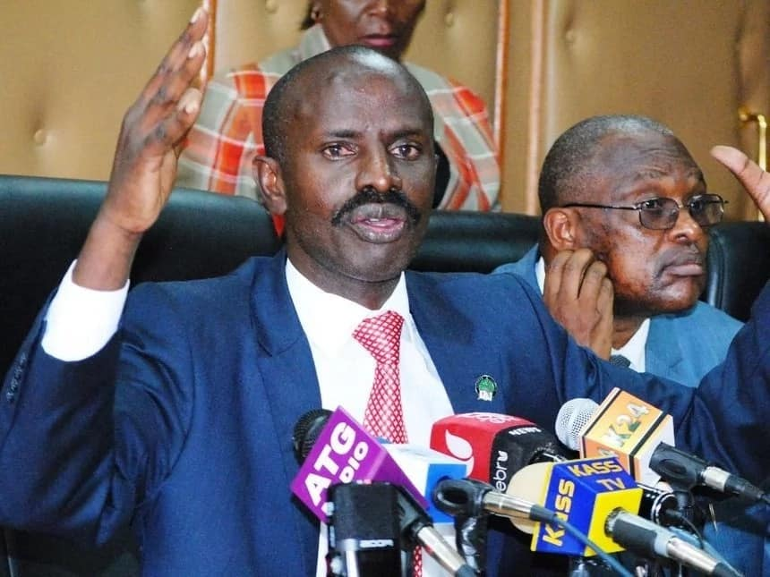 I am the duly elected KNUT Secretary General - Sossion declares a day after his ouster