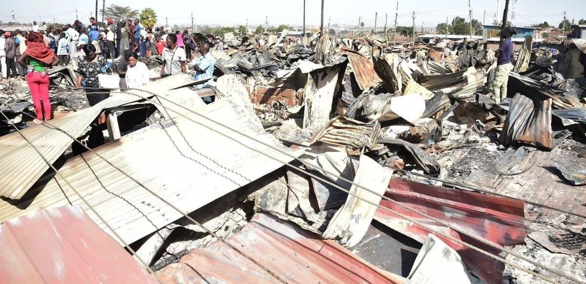 Govt to spend KSh 70 million on rebuilding burnt Lang'ata houses - DP Ruto