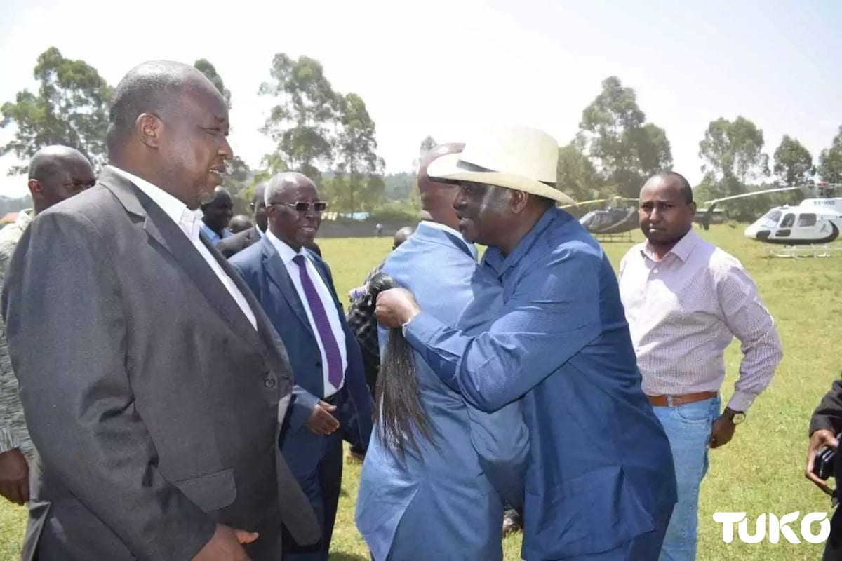 The purge on corruption is not targeting communities but individuals - Raila Odinga
