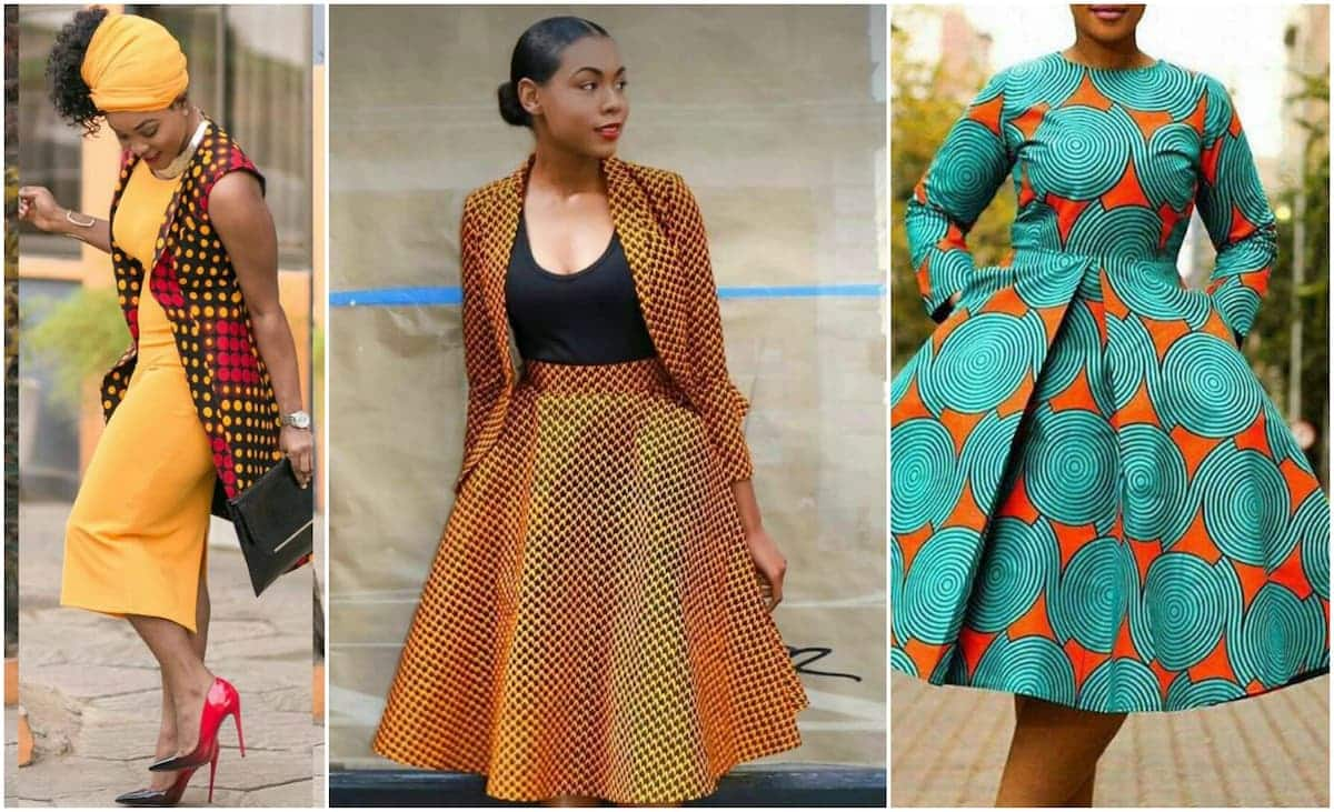 082677e049 Nice formal African print dresses styles ▷ Tuko.co.ke