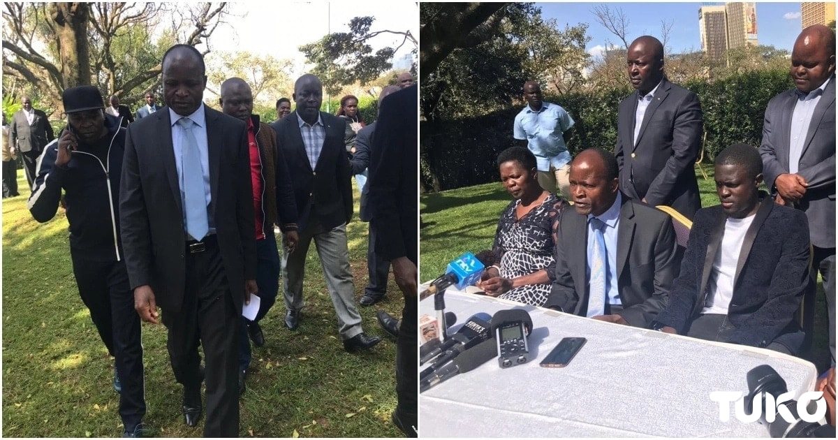 Obado's bodyguard arrested in hotel near Milimani Law Courts