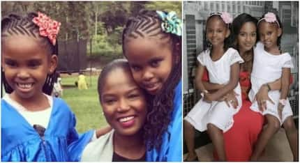 Msalame's baby daddy's wife attends her twins graduation and it's perfect (photos)