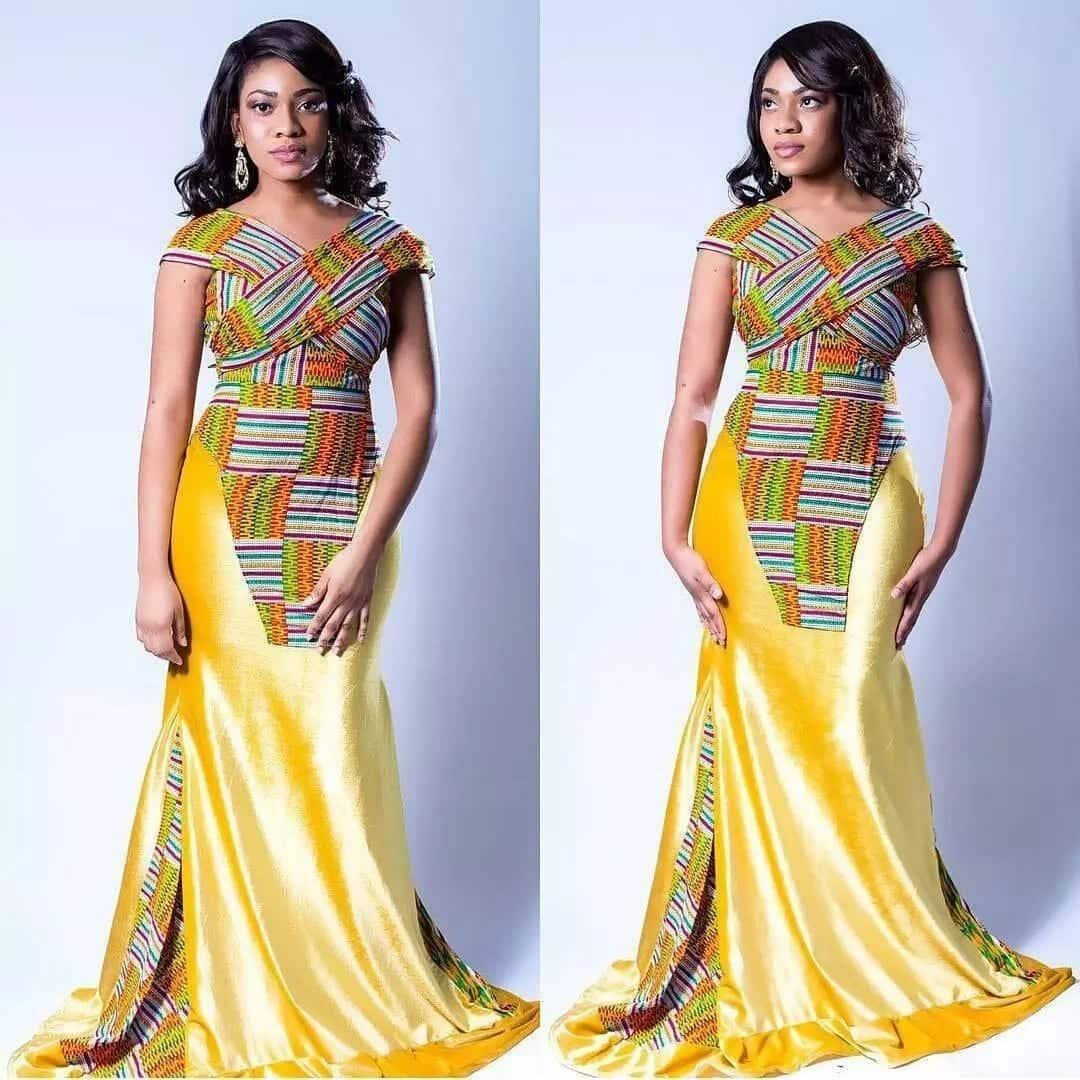 Ankara dress designs Ankara designs for skirt and blouse Ankara designs 2018