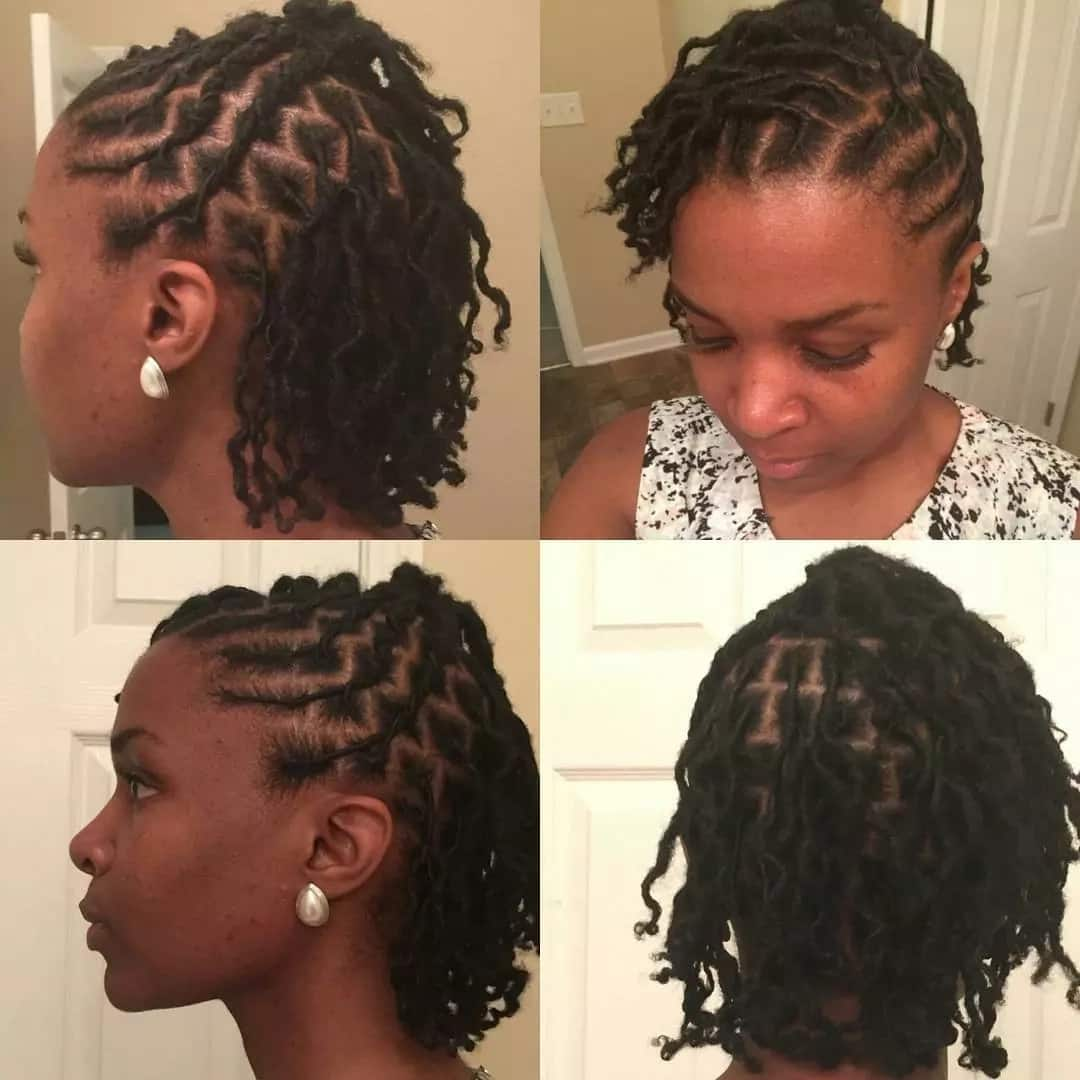 Step by step styling dreadlocks tutorial