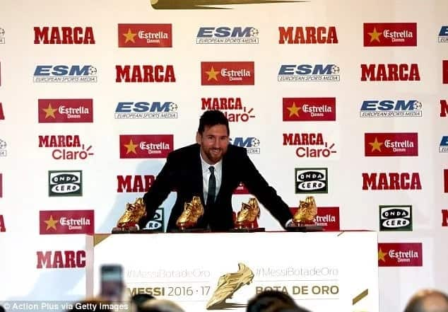 Messi names the two team that can stop Barca from winning the Champions League