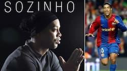 Barcelona legend Ronaldinho becomes a musician, releases first single