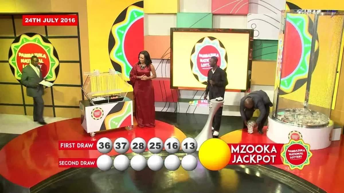 How to play pambazuka national lottery