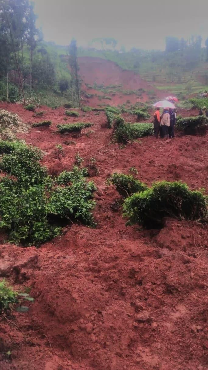UPDATE: 5 killed after landslides sweep homes in Murang'a