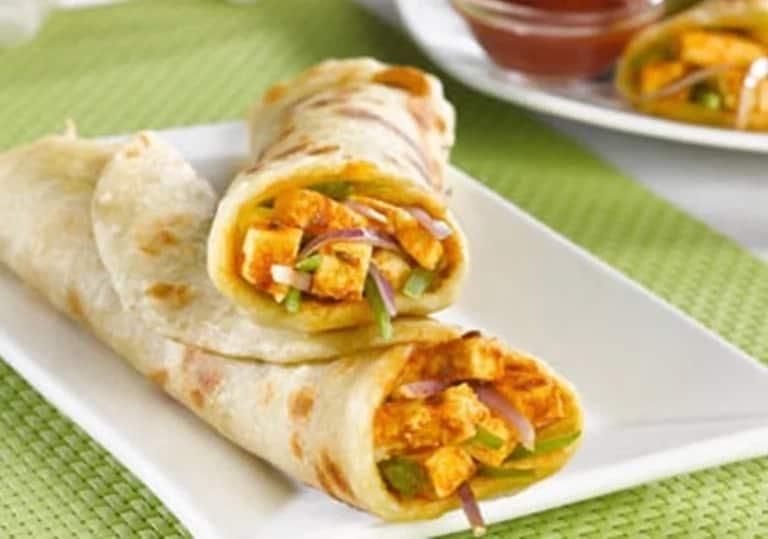 chapati roll
