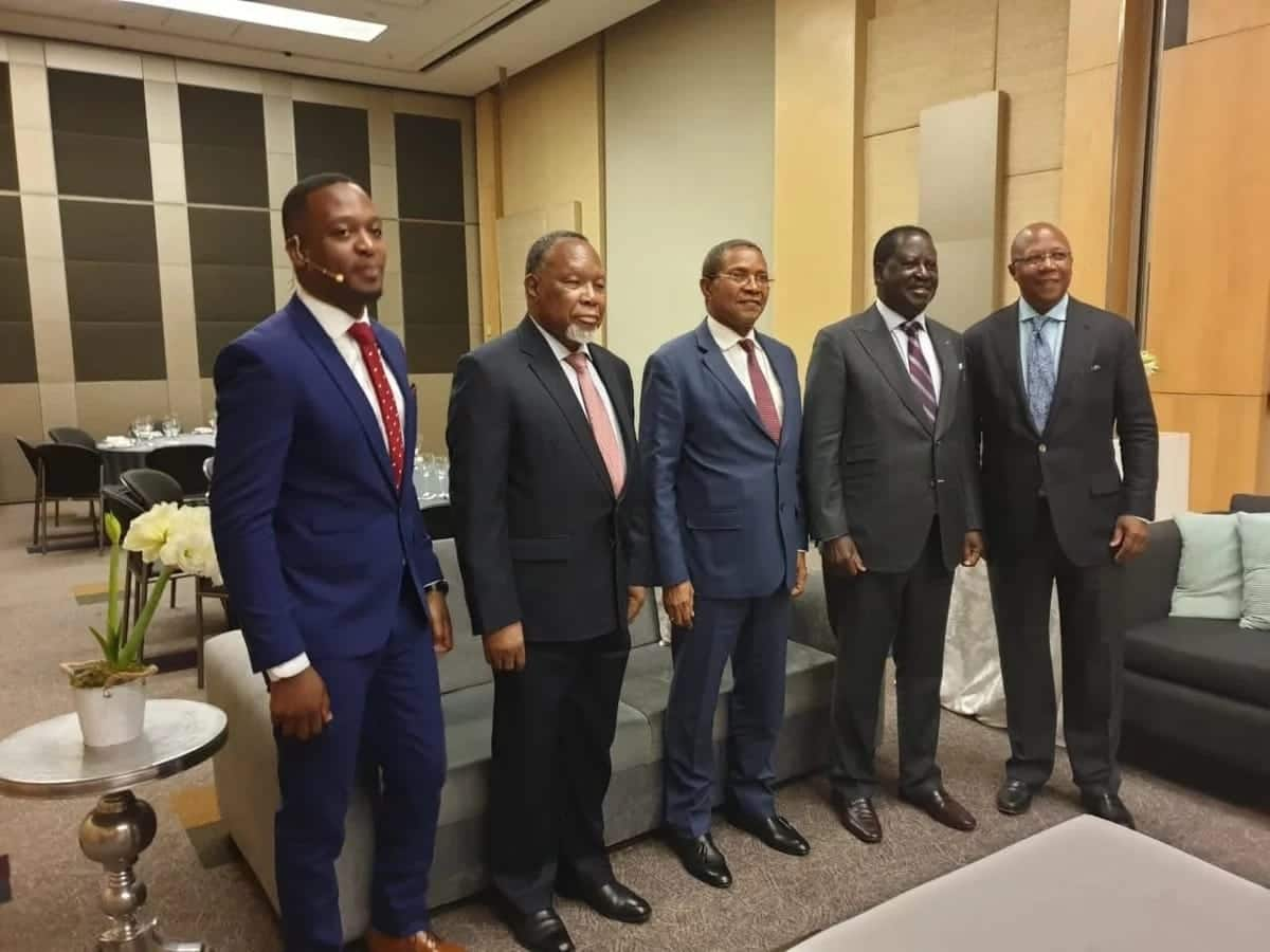 Details of Raila Odinga's first meeting in South Africa as Africa's top infrastructure envoy