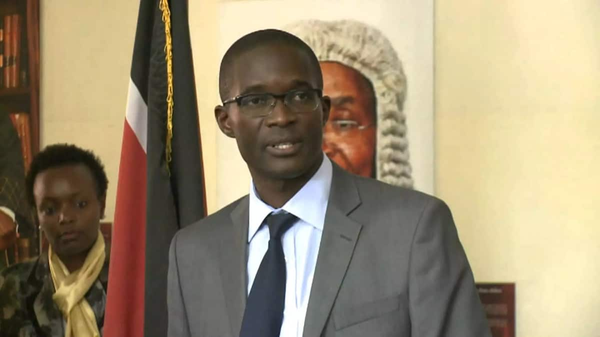 Commotion at Trans Nzoia funeral as mourners demand address from embattled IEBC CEO Chiloba