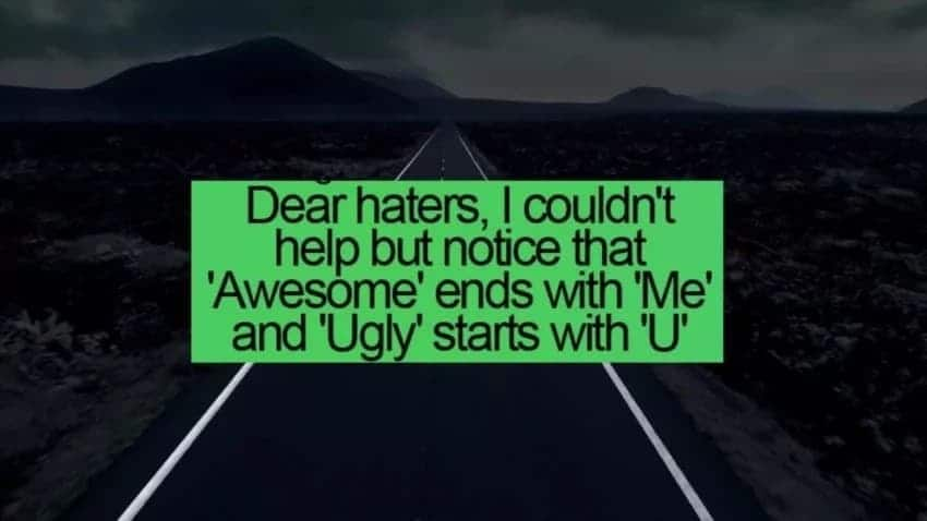 haters quote, quotes for haters, quotes to haters, comeback quotes for haters