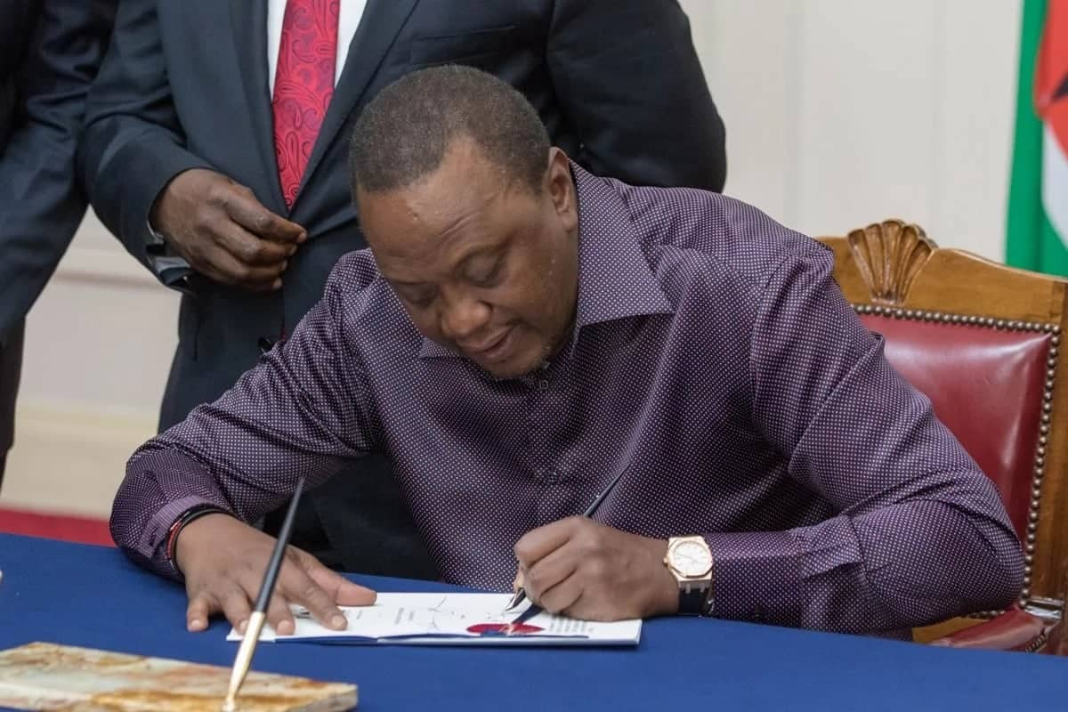 Uhuru signs into law Appropriation Bill 2018