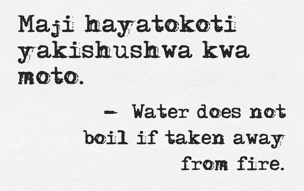 Very FUNNY SWAHILI Quotes and Images ▷ Tuko co ke