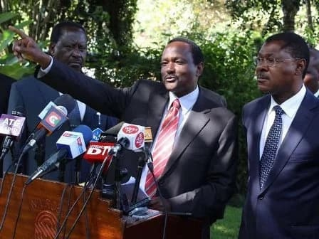 Raila and NASA leadership dismiss rumors the coalition is falling apart