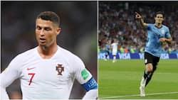 Uruguay yatamba huku portugal ikienda nyumbani katika kombe la dunia