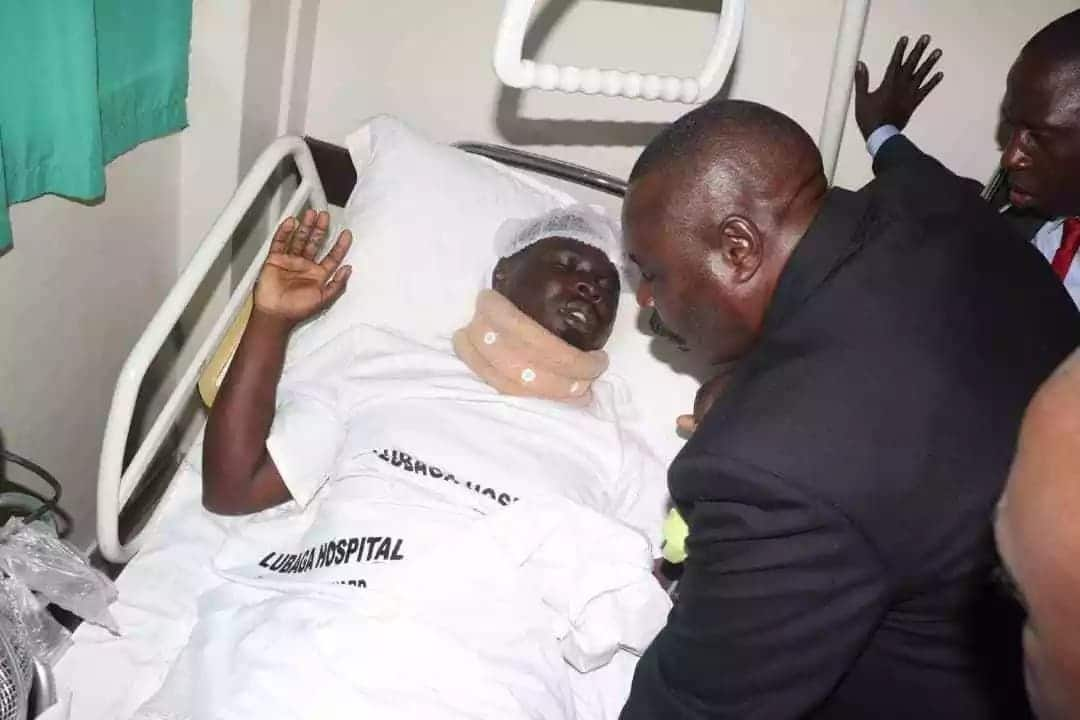 Unknown men attempt to kidnap MP allied to Bobi Wine from hospital bed