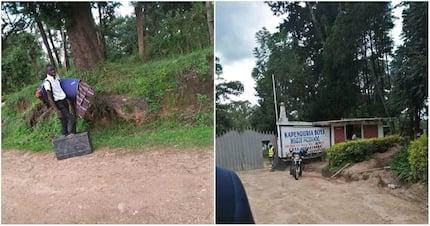 Mwanafunzi aliyetembea kilomita 50 kutoka shuleni apata mfadhili