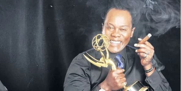 Jeff Koinange goes wildly untamed on Kenyan who suggested he has impregnated female news anchor