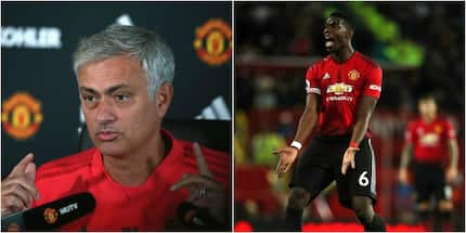You will never captain this team again - Manchester United manager Jose Mourinho tells Pogba