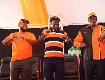 Yes, I am salivating as you 'eat'- Raila Odinga responds to Uhuru