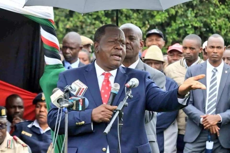 We have netted 1.2 million bags of harmful sugar - Matiang'i