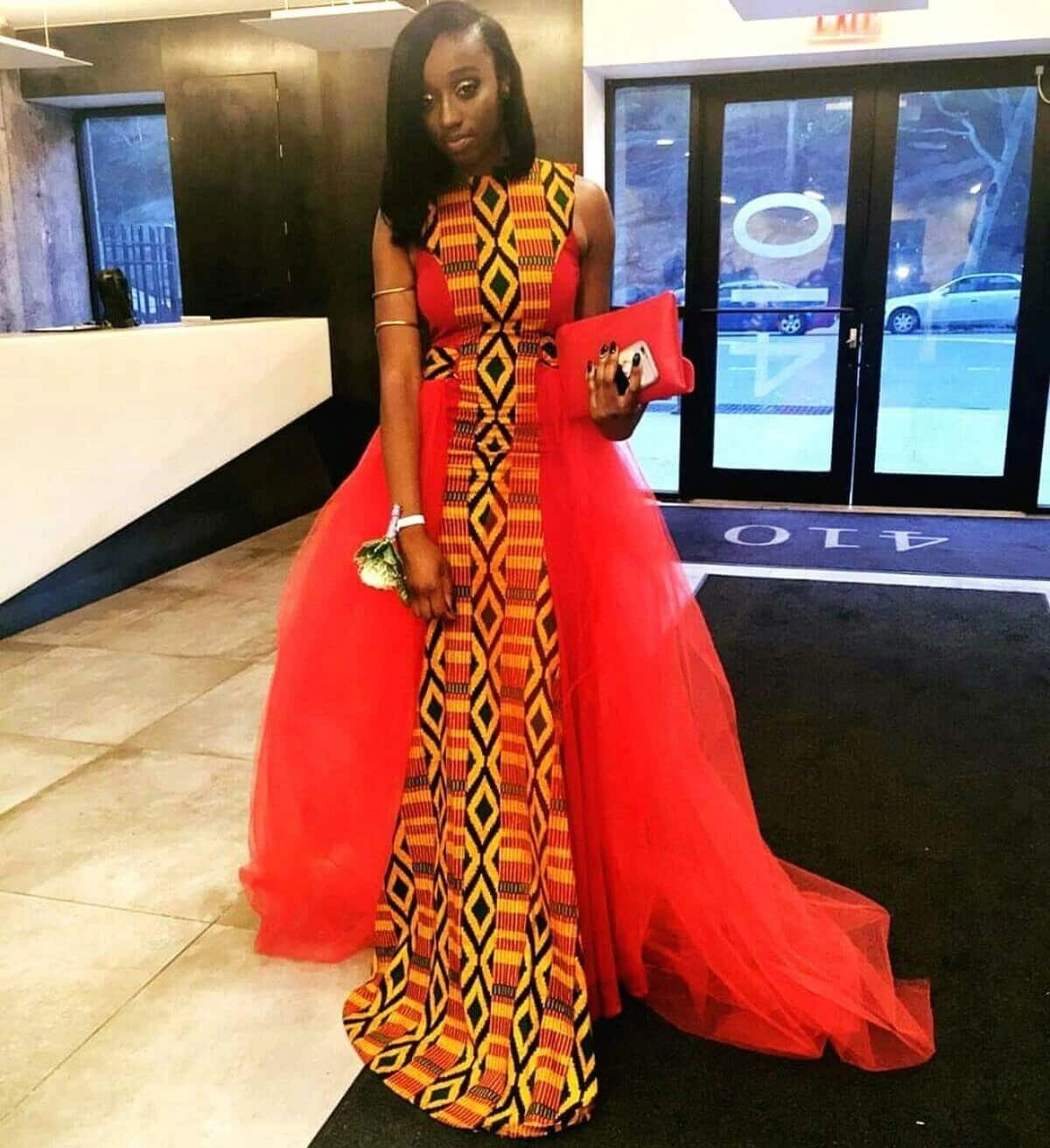 Best African print prom dress designs 2018