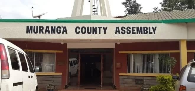 Murang'a county becomes first county to remove position of deputy speaker