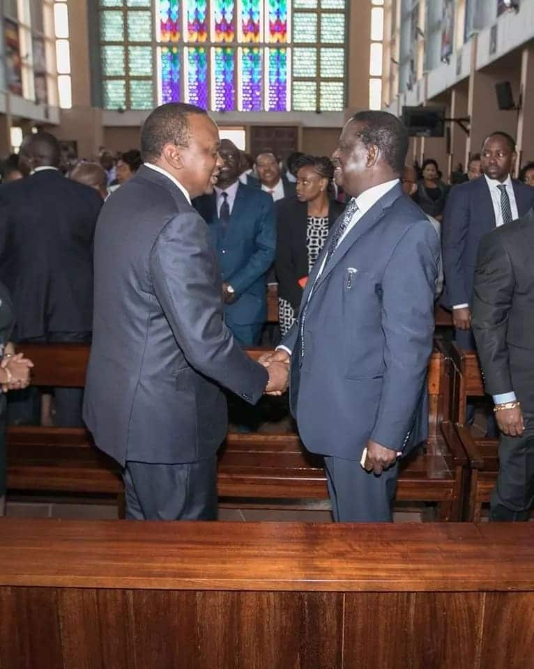 Stop politicising my handshake with Raila Odinga - Uhuru warns politicians