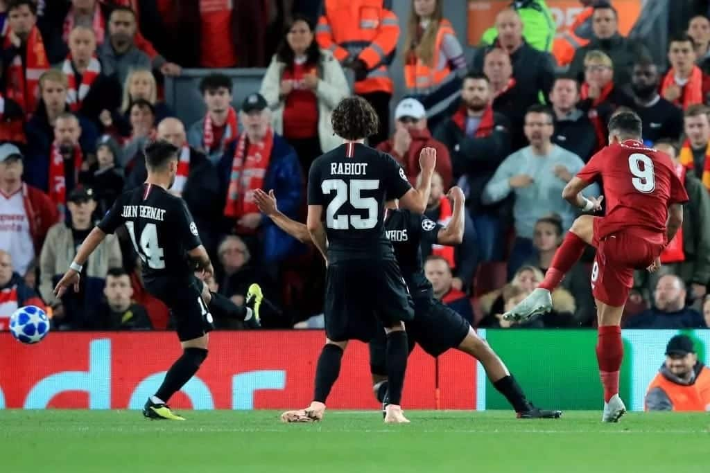 Champions League: Salah on spot after video his odd reaction to Firmino's goal surfaces