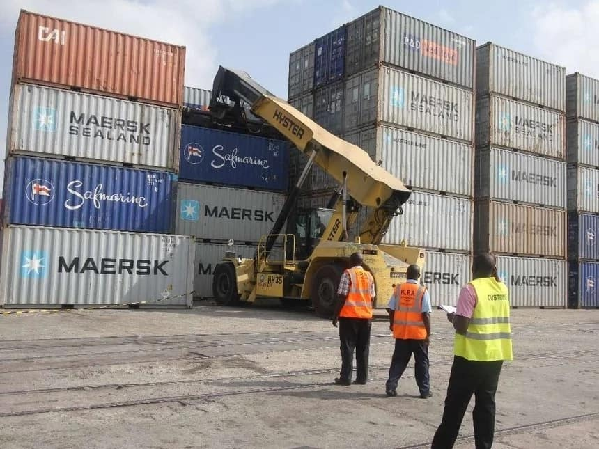 The government needs your support as it fumigates pests at the port of Mombasa