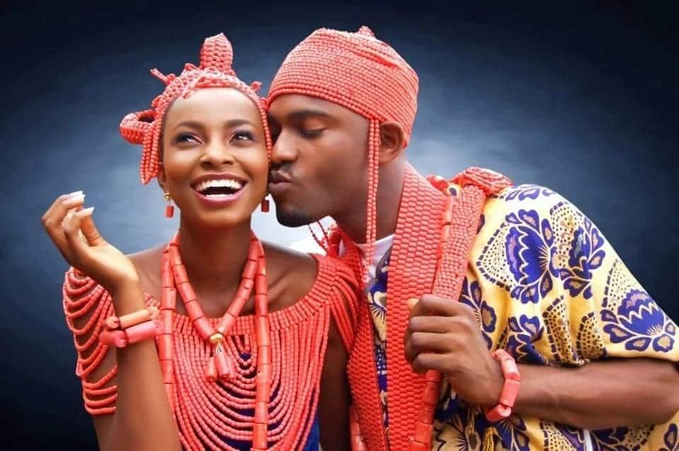 Traditional attire for Nigerian wedding Nigerian traditional wedding attire Nigerian traditional wedding attire for bride