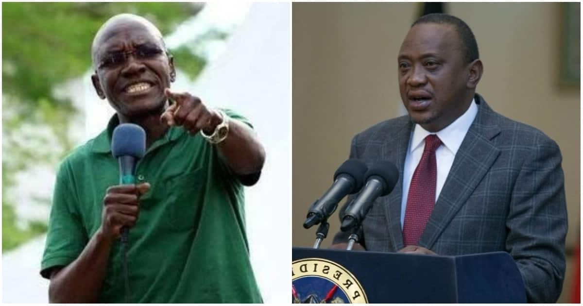 Boni Khalwale said he had not considered forgivingPresident Uhuru Kenyatta because the president did not explained why he was asking for forgiveness.