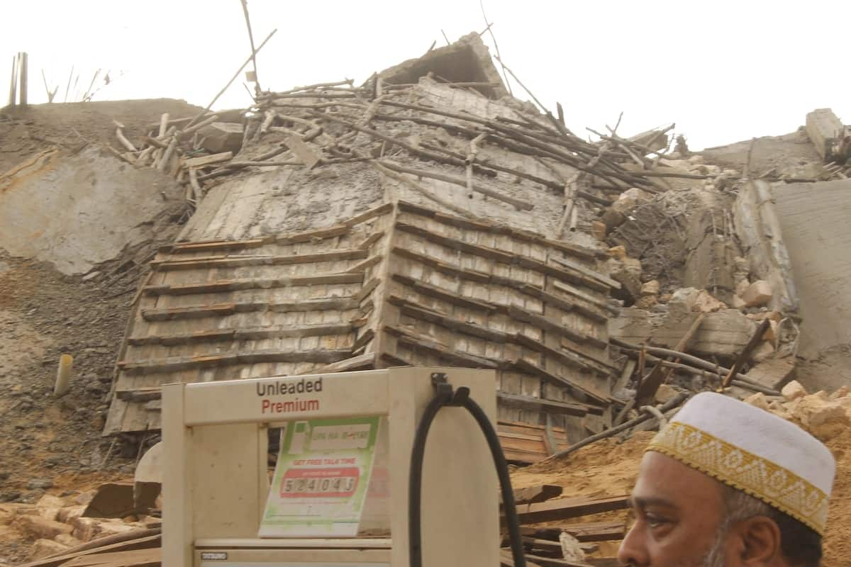 One dead, several injured after 8 storey building collapses in Malindi
