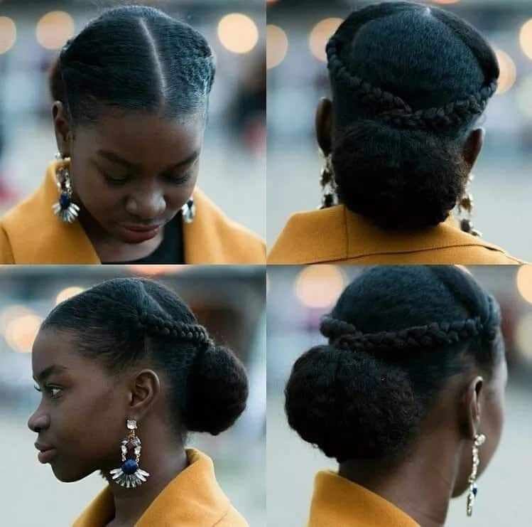13 Natural Hairstyles For Your Wedding Day Slay: Kenyan Hairstyles For Natural Hair Tuko.co.ke