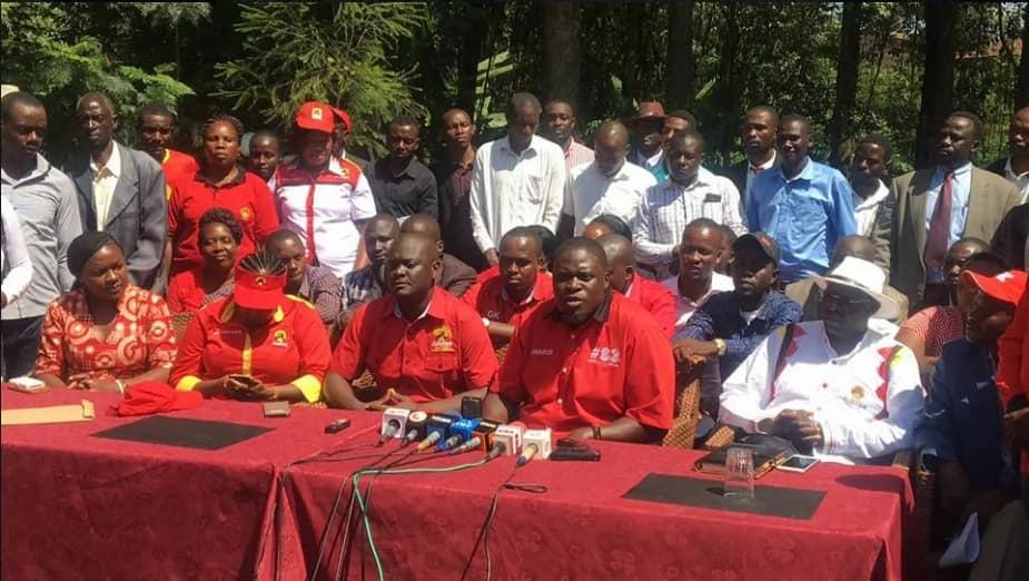 Sakaja receives ODM defectors