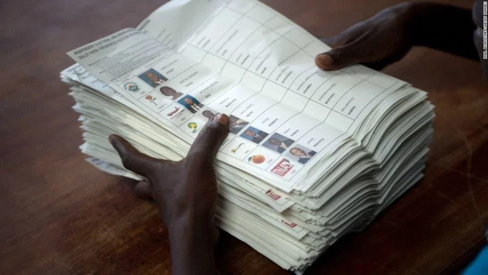Ballot paper printing with Raila on at 90% progress-IEBC