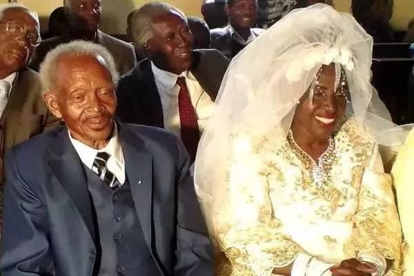 60 -year-old woman gets married for the first time to 78-year-old widower