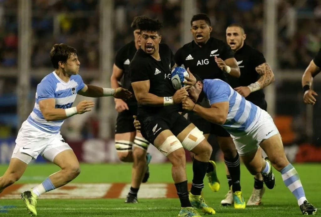 All Blacks defeat Argentina to claim Rugby Championship title